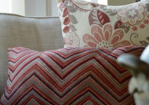 GeoBella<sup>®</sup> Orange & Red Outdoor Upholstery Fabrics